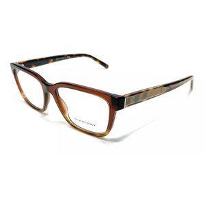 Burberry Women's Brown Square Eyeglasses!